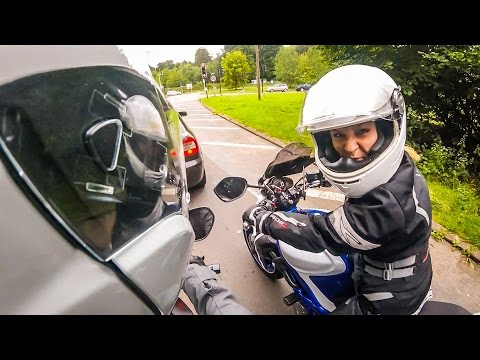 MOTOVLOG WITH MY SISTER!
