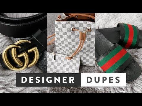 Best Designer Dupes On Amazon & Ebay UK   Gucci, Louis Vuitton, Balenciaga, Hermes, Cartier