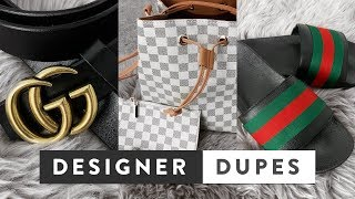 Best Designer Dupes on Amazon & Ebay UK | Gucci, Louis Vuitton, Balenciaga, Hermes, Cartier