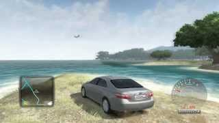 Toyota Camry V6 3.5 2007 in Test Drive Unlimited 2