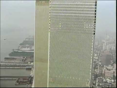 Sylvie (Klaus Lemke 1973) on Top of the WTC Twin Towers