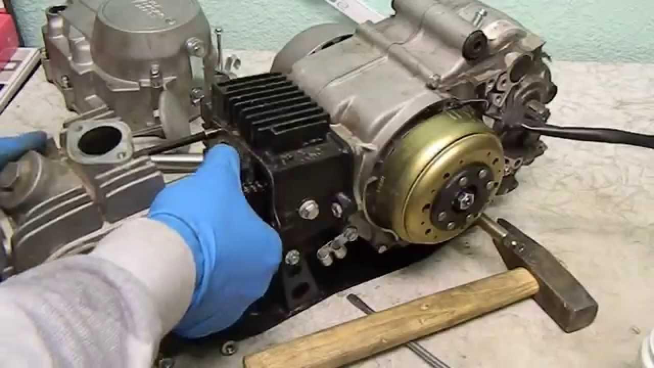 yx 140cc схема