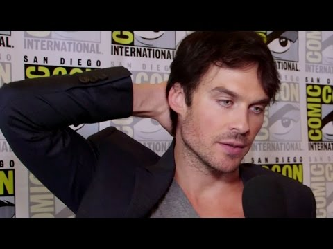 "Ian Somerhalder Interview ""The Vampire Diaries"" Season 8 - Comic Con 2016"