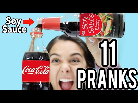 FUNNY PARENT PRANKS! TOP 11 FOR FRIENDS & FAMILY! NataliesOutlet