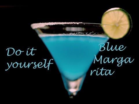 วิธีทำ Blue Margarita