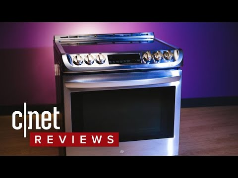 a44720d17e1 LG LSE4617ST induction stove review - YouTube