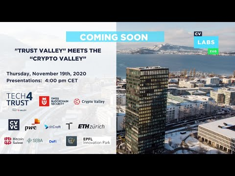 """""""Trust Valley"""" Meets the """"Crypto Valley"""""""
