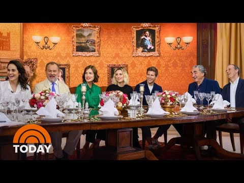 'downton-abbey'-cast-on-bringing-the-crawley-family-to-the-big-screen-|-today