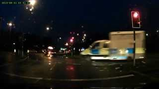 UK British Army Nuclear Weapons Convoy M6 11/01/2015