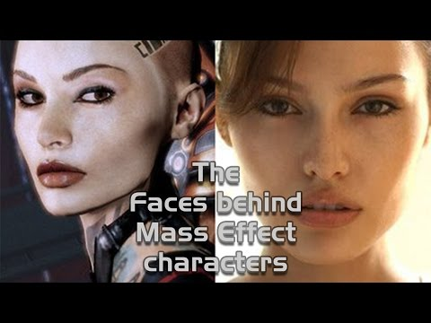 The Faces Behind Mass Effect Characters