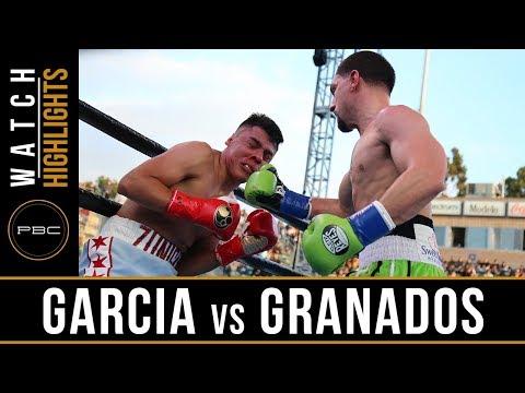 Garcia vs Granados HIGHLIGHTS: April 20, 2019 - PBC on FOX