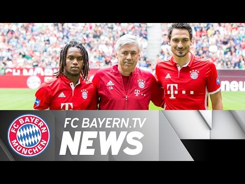 Hummels and Sanches in the Allianz Arena