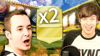 THE WALKOUT PACK LUCK THOUGH OMG! - FIFA 17 ULTIMATE TEAM