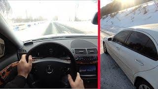 Mercedes-Benz W211 Winter Driving + Mercedes-Benz W212