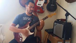 Como tocar Angel de Yuridia en la guitarra
