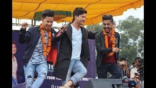 OMG प्रताप दास, बुद्ध लामा र निशान भट्टराईले गाउँदा टुँडिखेल थर्कियो- Nepal Idol Concert
