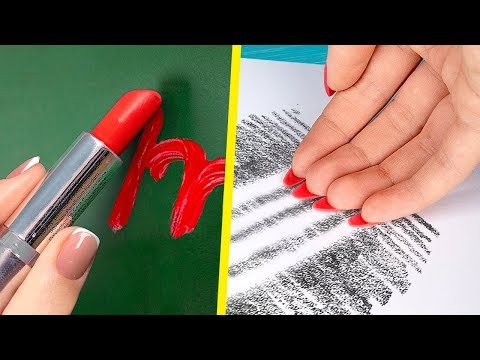 10 Fun and Useful DIY School Supply Ideas and School Hacks