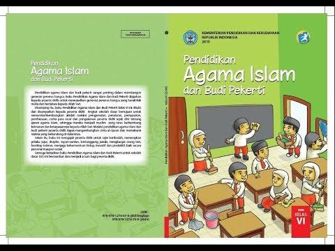 Media Pelajaran Agama Islam Sd Kelas Vi Pelajaran 3 Indahnya Nama Nama Allah Youtube