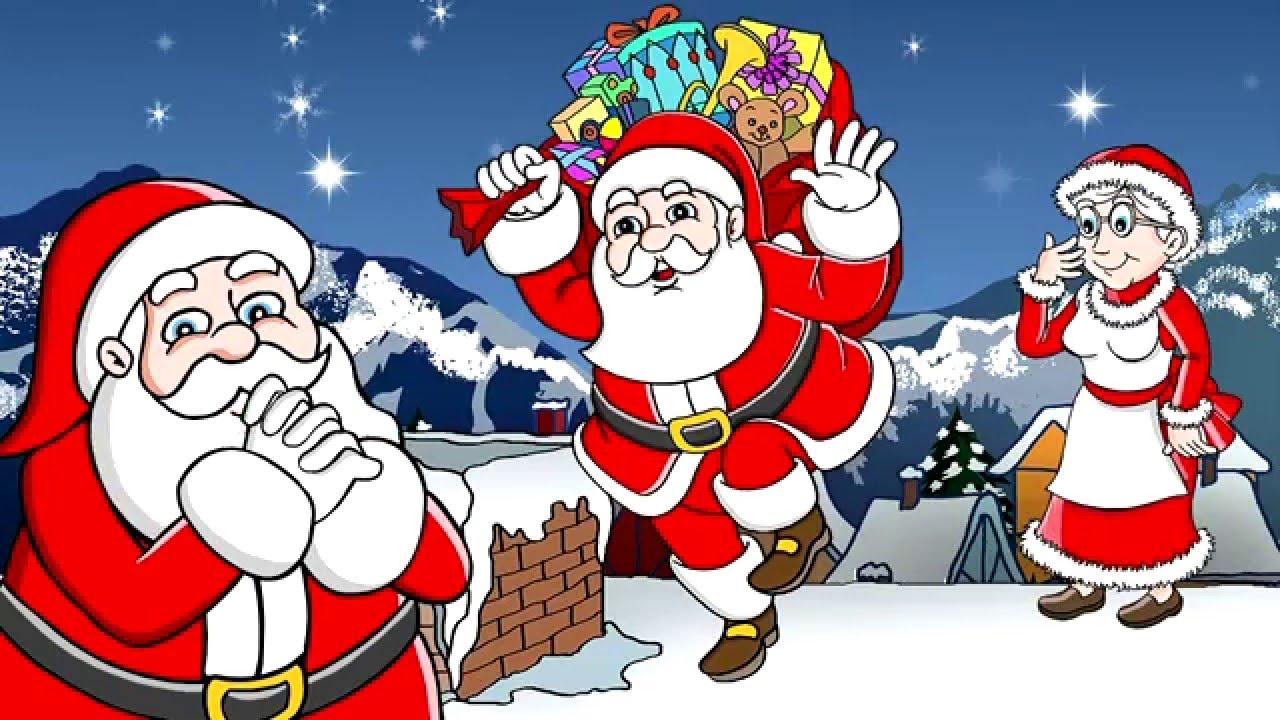 Papai Mamae Noel Gledlig Jol Feliz Natal Musica