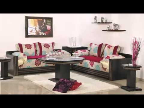 Salon marocain et d coration 2014 youtube for Decoration salon marocain