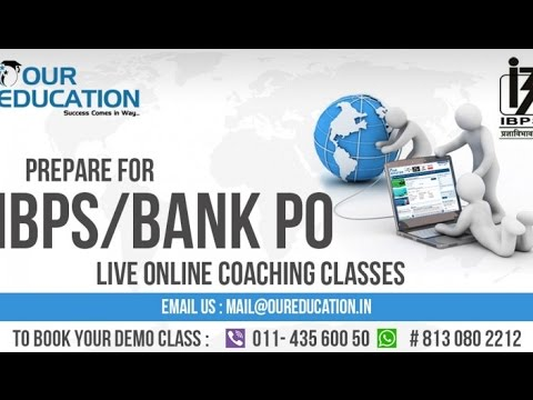Top 10 SBI PO AND SBI CLERK Coaching In Delhi BY OUR EDUCATION