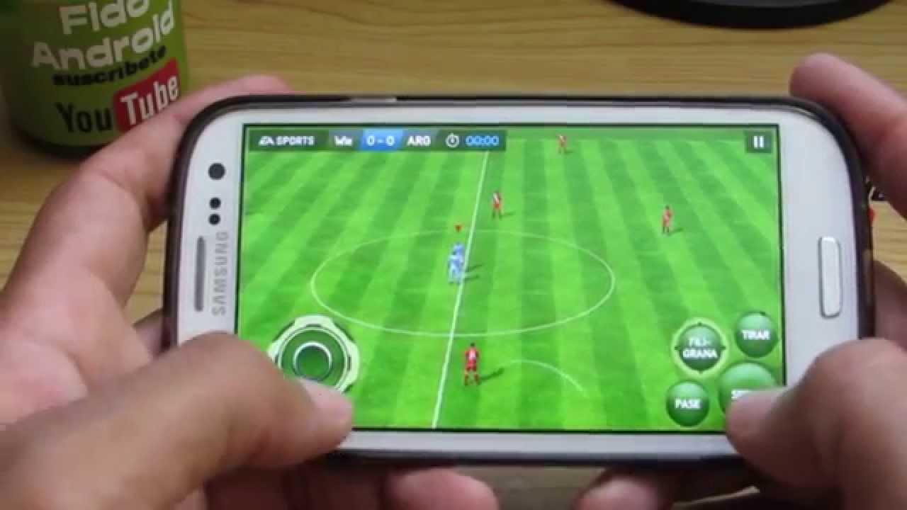 Los Mejores Juegos De Futbol Para Tu Android Top 5 Youtube