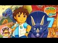 GO DIEGO GO: GREAT DINOSAUR RESCUE Walkthrough Gameplay Part 7 - FIND THE OURANOSAURUS' FAMILY