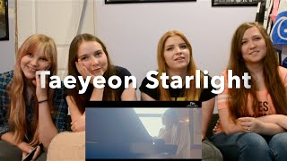 TAEYEON 태연 - Starlight (Feat. DEAN) MV Reaction