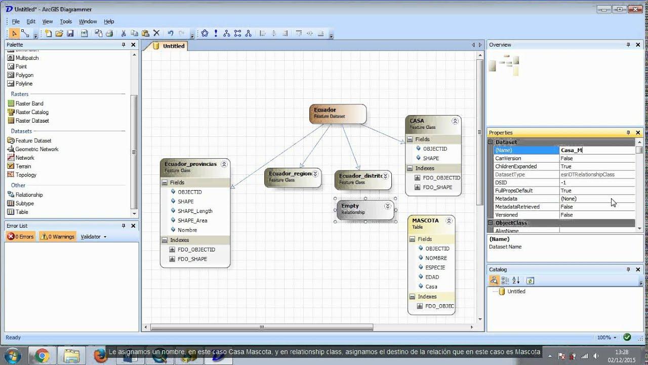 arcgis diagrammer modelamiento youtube rh youtube com arcgis diagrammer 10.2 arcgis diagrammer 10.2
