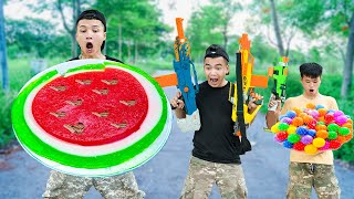 NTK Nerf Movies: Competition Nerf Guns GIANT JELLY WAR