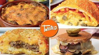 15 Twisted Cheeseburger Recipes | Cheeseburgers 15 Ways | Twisted