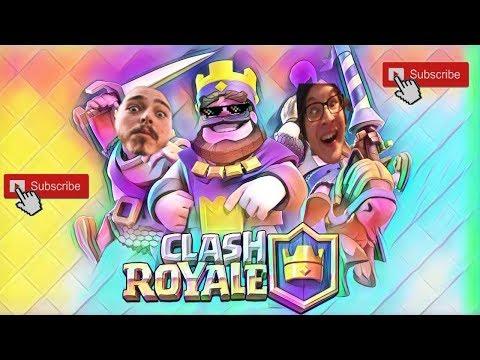 Играем в Clash Royale #1
