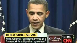 President Obama Tax Deal Jobless Benefits (December 6, 2010)