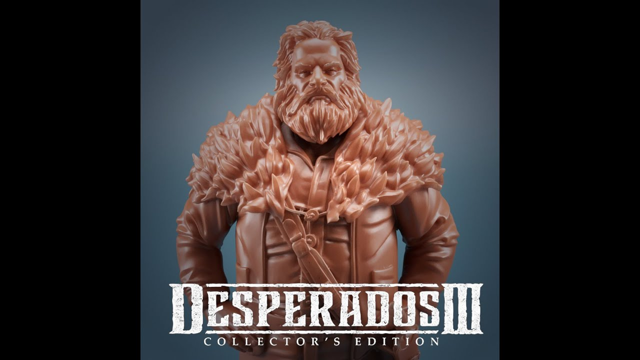 Artstation Desperados 3 Collectible Edition Hector Mendoza Alejandro Castiblanco