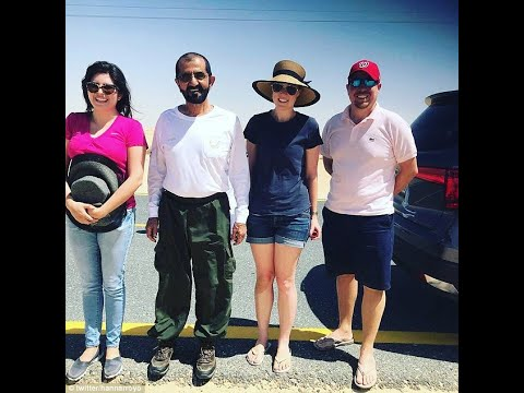 Ruler of Dubai comes to the rescue of tourists stranded in the desert after spotting them as he