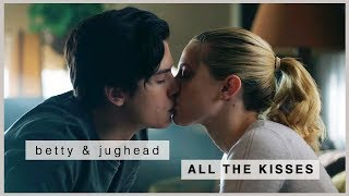 betty & jughead | all the kisses (s1-s3)