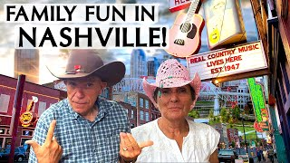 RVing to a Nashville Family Vacation