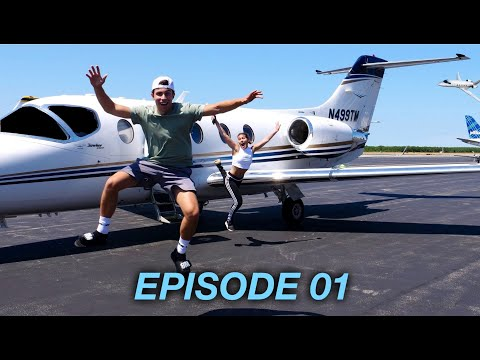 SURPRISING FRIEND WITH $2.1 MILLION PRIVATE JET
