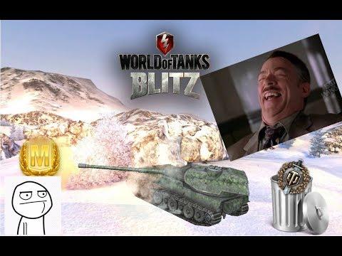 World Of Tanks Blitz. Мастер на все танки #3. VK 90.01p