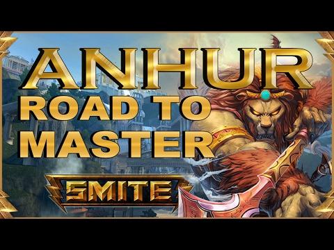 SMITE! Anhur, Como es posible esto? WTF!!! Road To Master Conquest S4 #5