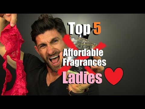 """Top 5 Affordable """"Panty Dropping"""" Fragrances Ladies LOVE"""