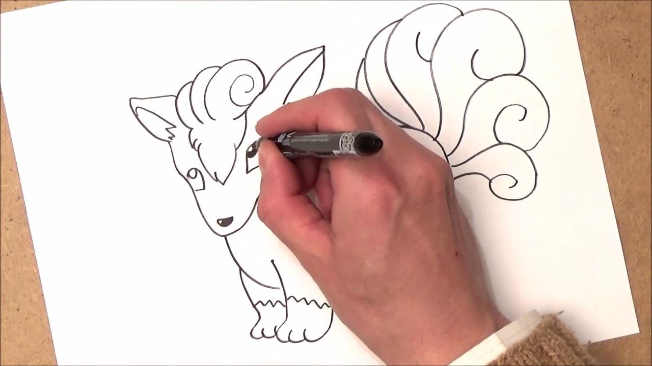 como desenhar um vulpix como desenhar um vulpix passo a passo