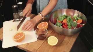 The Bikini Model Cookbook: Cauliflower & Broccoli Carrot Salad