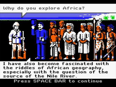 Apple II Longplay: Dr. Livingstone, I Presume? (Part 1/2)  Dr Livingstone I Presume Movie