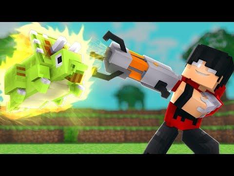 Minecraft: GRAVITY GUN - MUNDO DINO Ep.6 ‹‹ P3DRU ››