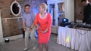 подарок папы с мамой танец  на свадьбе Юли и Саши 24 июня 2015 ресторан Бакенбарды Пушкин