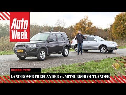 Land Rover Freelander vs. Mitsubishi Outlander - Dubbeltest - English subtitled