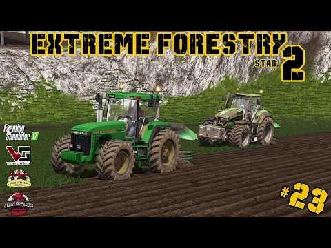 EXTREME FORESTRY STAGIONE 2 | #23 ep. - PREPARAZIONE CAMPO PIOPPI - FARMING SIMULATOR 17