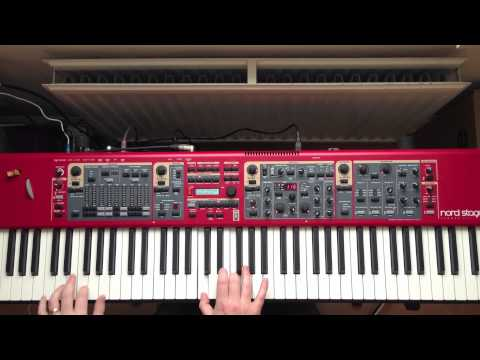 Nord Stage 2 Demo - Stayin Alive