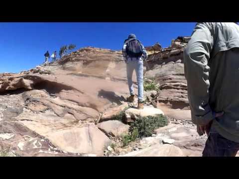 Ascent to Jabal Hourun (Mount Aaron/ Mt Hor)